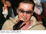 Купить «Сергей Безруков», эксклюзивное фото № 215417, снято 4 декабря 2005 г. (c) Ирина Мойсеева / Фотобанк Лори