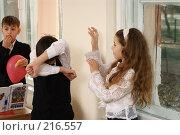 Купить «В глухой обороне», фото № 216557, снято 5 марта 2008 г. (c) Федор Королевский / Фотобанк Лори