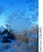Купить «Снежкинки на окне», фото № 216845, снято 21 января 2020 г. (c) ElenArt / Фотобанк Лори