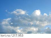Купить «Небо», фото № 217953, снято 27 февраля 2020 г. (c) ElenArt / Фотобанк Лори