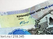 Купить «Деньги. Казахстан», фото № 218345, снято 21 сентября 2018 г. (c) ElenArt / Фотобанк Лори