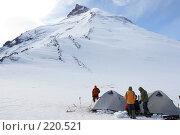 Купить «Гора Камень. Камчатка.», фото № 220521, снято 17 августа 2007 г. (c) Сергей Пономарев / Фотобанк Лори