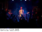 Купить «Евгений Федоров, группа Текиладжаззз ( Tequilajazzz )», эксклюзивное фото № 221005, снято 11 августа 2007 г. (c) Ирина Мойсеева / Фотобанк Лори