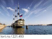 Купить «На Неве. Санкт-Петербург», эксклюзивное фото № 221493, снято 11 марта 2008 г. (c) Александр Алексеев / Фотобанк Лори