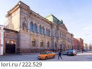 Купить «Училище барона Штиглица. Санкт-Петербург», эксклюзивное фото № 222529, снято 11 марта 2008 г. (c) Александр Алексеев / Фотобанк Лори