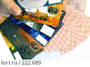 Купить «Карточный веер», фото № 222689, снято 10 марта 2008 г. (c) Shawn A. Nelson / Фотобанк Лори