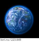 Купить «Голубая планета», иллюстрация № 223849 (c) Валерия Потапова / Фотобанк Лори