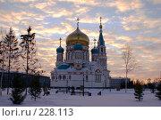 Купить «Омск. Возрожденный Успенский собор», фото № 228113, снято 8 января 2008 г. (c) Julia Nelson / Фотобанк Лори