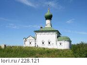 Купить «Церковь в чистом поле», эксклюзивное фото № 228121, снято 4 июля 2006 г. (c) Солодовникова Елена / Фотобанк Лори