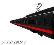 Купить «Черный поезд», иллюстрация № 228517 (c) ИЛ / Фотобанк Лори