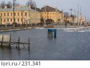 Купить «Санкт-Петербург, затопленный Василевский остров», фото № 231341, снято 3 февраля 2008 г. (c) Андрюхина Анастасия / Фотобанк Лори