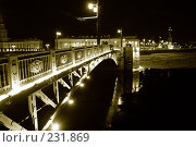 Купить «Питерские мосты», фото № 231869, снято 29 января 2007 г. (c) Наталья Чуб / Фотобанк Лори