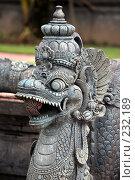Купить «Каменная статуя Дракон», фото № 232189, снято 22 февраля 2008 г. (c) Морозова Татьяна / Фотобанк Лори