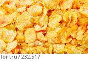 Купить «Картофельные чипсы», фото № 232517, снято 15 ноября 2019 г. (c) Роман Сигаев / Фотобанк Лори