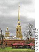 Купить «Санкт-Петербург.  Петропавловский собор.», фото № 233917, снято 10 мая 2005 г. (c) Александр Секретарев / Фотобанк Лори
