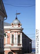 Купить «Здание с эркером на Рождественской улице в Нижнем Новгороде», фото № 234177, снято 24 марта 2008 г. (c) Igor Lijashkov / Фотобанк Лори