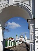 Купить «Печерский Вознесенский  монастырь в Нижнем Новгороде», фото № 234189, снято 24 марта 2008 г. (c) Igor Lijashkov / Фотобанк Лори