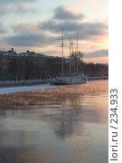 Купить «Санкт-Петербург. Адмиралтейская набережная.», фото № 234933, снято 5 февраля 2006 г. (c) Инга Лексина / Фотобанк Лори