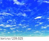 Купить «Небо. Иллюстрация», иллюстрация № 239025 (c) ElenArt / Фотобанк Лори