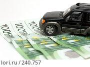 Купить «Деньги и автомобиль», фото № 240757, снято 21 июля 2019 г. (c) паша семенов / Фотобанк Лори