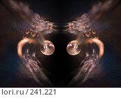 Купить «Абстракция. Светлячки», иллюстрация № 241221 (c) Parmenov Pavel / Фотобанк Лори