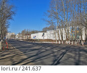 Купить «Проспект строителей, город Краснокаменск», фото № 241637, снято 11 декабря 2018 г. (c) Геннадий Соловьев / Фотобанк Лори