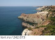Купить «Побережье Крыма», фото № 242073, снято 22 августа 2007 г. (c) Nelli / Фотобанк Лори