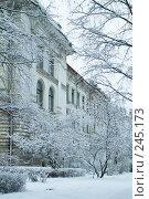 Купить «Старое здание на территории Политехнического института, Санкт-Петербург», фото № 245173, снято 27 января 2008 г. (c) Ольга Красавина / Фотобанк Лори