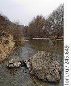 Купить «Вешние воды, Уссури», фото № 245649, снято 6 апреля 2008 г. (c) Олег Рубик / Фотобанк Лори