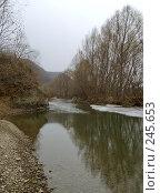 Купить «Вешние воды, Уссури», фото № 245653, снято 6 апреля 2008 г. (c) Олег Рубик / Фотобанк Лори