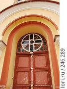 Купить «Дверь», фото № 246289, снято 22 марта 2008 г. (c) Лифанцева Елена / Фотобанк Лори