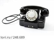Купить «Телефон», фото № 248689, снято 25 ноября 2005 г. (c) Кравецкий Геннадий / Фотобанк Лори