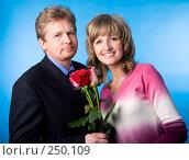 Купить «Он и она», фото № 250109, снято 26 мая 2007 г. (c) Андрей Андреев / Фотобанк Лори