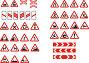 Дорожные знаки, иллюстрация № 250473 (c) Losevsky Pavel / Фотобанк Лори