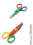 Купить «Разноцветные ножницы», фото № 250893, снято 12 апреля 2008 г. (c) Угоренков Александр / Фотобанк Лори