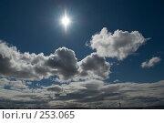 Купить «Солнце и облака», фото № 253065, снято 25 марта 2007 г. (c) Марианна Меликсетян / Фотобанк Лори