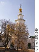 Купить «Истра. Надвратная церковь Входа Господня в Иерусалим.», фото № 253249, снято 29 марта 2008 г. (c) Julia Nelson / Фотобанк Лори