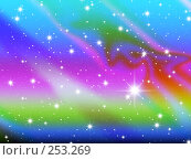 Купить «Космос. Абстрактный фон», иллюстрация № 253269 (c) Карелин Д.А. / Фотобанк Лори