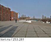 Купить «Город Краснокаменск общественный центр 3-4 микрорайон», фото № 253281, снято 15 апреля 2008 г. (c) Геннадий Соловьев / Фотобанк Лори