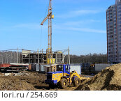 Купить «Строительство жилого комплекса в микрорайоне «1 Мая», Балашиха, Московская область», эксклюзивное фото № 254669, снято 9 апреля 2008 г. (c) lana1501 / Фотобанк Лори