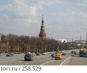 Купить «Водовзводная башня Московского Кремля», фото № 258529, снято 6 апреля 2008 г. (c) Михаил Феоктистов / Фотобанк Лори