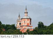 Купить «Горне-Никольская церковь. Брянск», фото № 259113, снято 4 августа 2006 г. (c) Екатерина / Фотобанк Лори