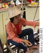 Купить «Тайский продавец», фото № 259481, снято 16 августа 2007 г. (c) Примак Полина / Фотобанк Лори