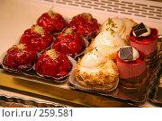 Купить «Пирожные», фото № 259581, снято 22 октября 2007 г. (c) Gagara / Фотобанк Лори