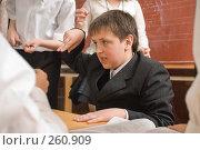 Купить «Рассказчик. Перемена в четвертом классе», фото № 260909, снято 23 апреля 2008 г. (c) Федор Королевский / Фотобанк Лори