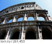 Купить «Стена римского Колизея», фото № 261453, снято 20 мая 2007 г. (c) Маргарита Лир / Фотобанк Лори