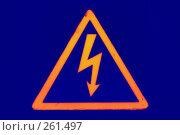 Купить «Высокое напряжение», фото № 261497, снято 24 апреля 2008 г. (c) Брыков Дмитрий / Фотобанк Лори
