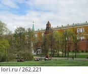 Купить «В Александровском саду», фото № 262221, снято 19 апреля 2008 г. (c) Мария Коробкина / Фотобанк Лори