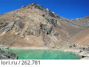 Купить «Зеленое озеро в горах», фото № 262781, снято 27 августа 2007 г. (c) Селигеев Андрей Иванович / Фотобанк Лори