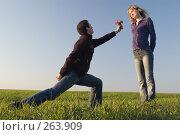 Купить «Признание в любви», фото № 263909, снято 12 апреля 2008 г. (c) Арестов Андрей Павлович / Фотобанк Лори